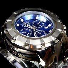 Invicta S1 Rally 54mm Stainless Steel Swiss Movt Chronograph Blue Watch New