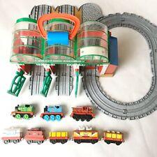Thomas & Friends Take Along Talking Knapford Station Playset Track + 8 Trains