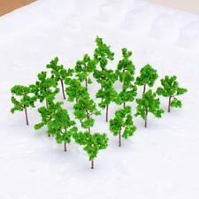 4cm Green Pine Trees Model fit Z Scale Railways Street Park Layout Approx. 50pcs