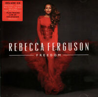 REBECCA FERGUSON - FREEDOM - DELUXE EDITION with Extra Tracks. NEW SEALED CD