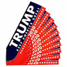 10Pcs 2020 Trump Sticker Political Keep America Great for President Bumper NEW