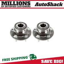 Wheel Hub Bearing Assembly Front Pair 2 for Camaro Impala CTS XTS 5 Lug with ABS