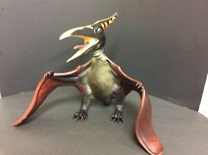 """Giant Pterodactyl 18"""" Rubber Figure Toys R Us Maidenhead 2005 Dinosaur Toy Large"""