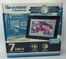 Pandigital Panimage 7-Inch LED Digital Picture Frame Black - NEW OLD STOCK -
