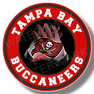 Tampa Bay Buccaneers Vinyl Sticker Decal Team Colors Truck Windows NFL Football