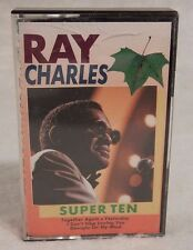 Ray Charles : Super Ten  Evergreen made in Holland