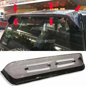 Rear Spoiler Sun Rain Visor Window Shield For Toyota Prado FJ90 FJ95 1998-2002