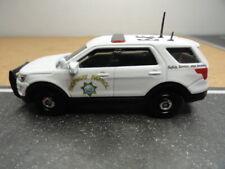 MATCHBOX POLICE CALIFORNIA HIGHWAY PATROL POLAR BEAR (CHP) FORD 2016 CUSTOM UNIT