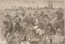 FOX HUNTING IN BLACKVILLE.  1879