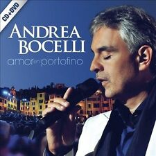 Amor en Portofino [CD/DVD] by Andrea Bocelli (CD, Nov-2013, 2 Discs, Sugar)