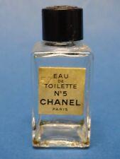 Vintage CHANEL No. 5 MINI EAU DE TOILETTE SAMPLE / ECHANTILLON  FLACON