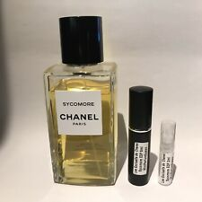 Les Exclusifs de Chanel Sycomore Edp Eau De Parfum sample 2ml, 5ml,