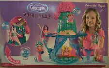 BARBIE FAIRYTOPIA MERMAIDIA PLAYSET 2 LEVELS OF PLAY 2-FEET TALL J0771 2006 *NU*