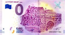 """Album Billets 0 Euro Souvenir Safe 2017, avec le billet """"Le Pont-Neuf"""" 2018"""