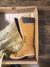 Woman Timberland 14 Inch Wheat Boot Size 6