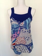 Women's Eley Kishimoto Original Print Cotton Top US 4/ British 8