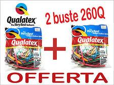 Palloncini modellabili (2 pacchi) QUALATEX 260Q BUSTA 100pz Color Mix sculture