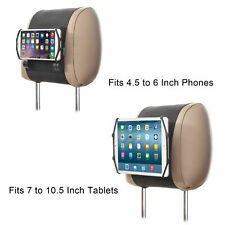 Universal Car Headrest Mount Holder for 4.5-6 Phone 7-10.5 Inch Tablet i Pad