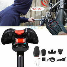 3 in 1 Bicycle Wireless Rear Light Cycling Remote Control theft Alarm Lock