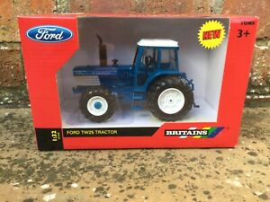 BRITAINS FORD TW 25 TRACTOR MODEL 1/32 Q CAB FARM LAYOUT CLASSIC U H SIKU, 43011