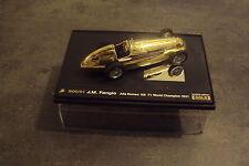 1/43ème BRUMM - Edition limitée Or - Alpha Romeo 158 - J M Fangio