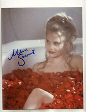 Mena Suvari - American Beauty (1999) Sexy Star Hand Signed Autographed Photo Loa
