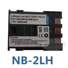 2X NB-2LH NB-2L Li-ion Battery For Canon EOS 400D 350D G9 G7 Rebel XT XTi S50