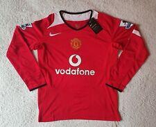 Manchester United 2005/06 Premier League Shirt RONALDO #7 - Size Small