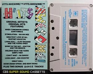 H'its Awesome! '86, Various Cassette 1986 CBS – AWE 1C Pop, Rock Australia