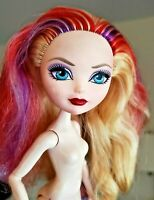 Ever After High Doll Blonde Red Purple Hair Articulated Nude for OOAK or Custom