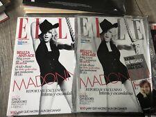 Madonna Elle Argentina Magazine In Foil Outer Sleeve Rare