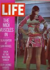 LIFE MAGAZINES ( 8/21/1970, 1/10/1969, 8/8/1969, 5/23/1969) G TO G+
