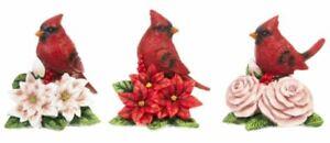Ganz Christmas Cardinal Figurine, Choose Your Style (EX26668C)