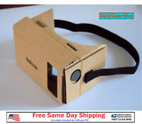 Google Cardboard 3D Vr Virtual Reality Glasses For Android or iPhone