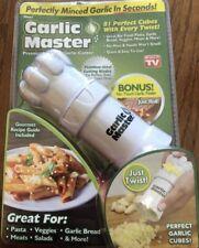 Garlic Master Garlic Cutter-The Easiest to USE Food Chop Cutter Garlic Slicer