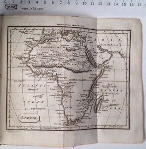 Africa 1824 Antique Map Guys School Geography Atlas, Great Desert, Soudan, Egypt