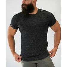 Echt мужская футболка спортзал фитнес тренировки мышц верхней Бодибилдинг лето 2021 футболка