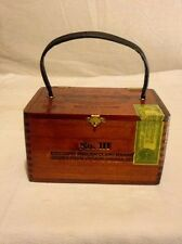 Hoyo De Monterrey Jose Gener Excalibur Limited Ed. Maduro Empty Cigar Box Purse