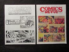 1997 COMICS REVUE Magazine #135 149 FN/FN+ LOT of 2 Flash Gordon - Sky Masters