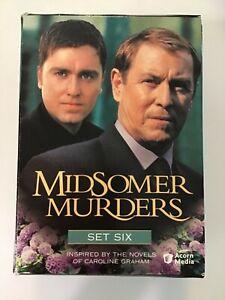 Midsomer Murders: Series 6 (DVD 2002 5 Disc Set) VERY GOOD
