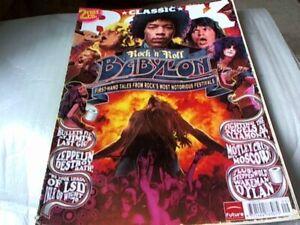 2 X Classic Rock Magazines No's 109/113 Feat: LED ZEPPELIN + HENDRIX,MOTLEY CRUE