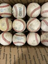 New listing 24 Used Basesballs For Batting Practice Leather