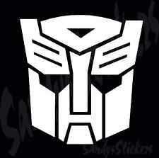 2 Transformers Autobots Vinyl Decals Stickers - Many Colors! Optimus Prime