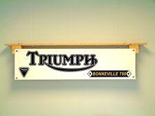 TRIUMPH Bonneville T140 Bannière Classique Moto Show garage atelier Display