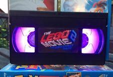 Lego Movie 2 Retro VHS LED Night Light, Desk Lamp, Led, Bedroom Lamp, TV, Kids