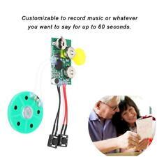 60s DIY Grußkarte Modul Voice Sound Record Chip Grußkarte Weihnachtsgeschenk