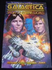 Battle Star Galactica Saga Of A Star World TPB VF/NM Condition