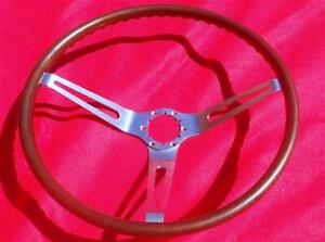 GM 3 Spoke Wood Steering Wheel 1967-1968 Corvette Camaro Chevelle Impala Nova NR