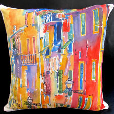 """Decorative and Accent French Pillow - """"Scenes of Provence"""", made in France"""