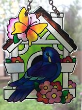 Joan Baker Designs, Suncatcher-SSB1009R-Bird & Birdhouse,NEW, Original Packaging